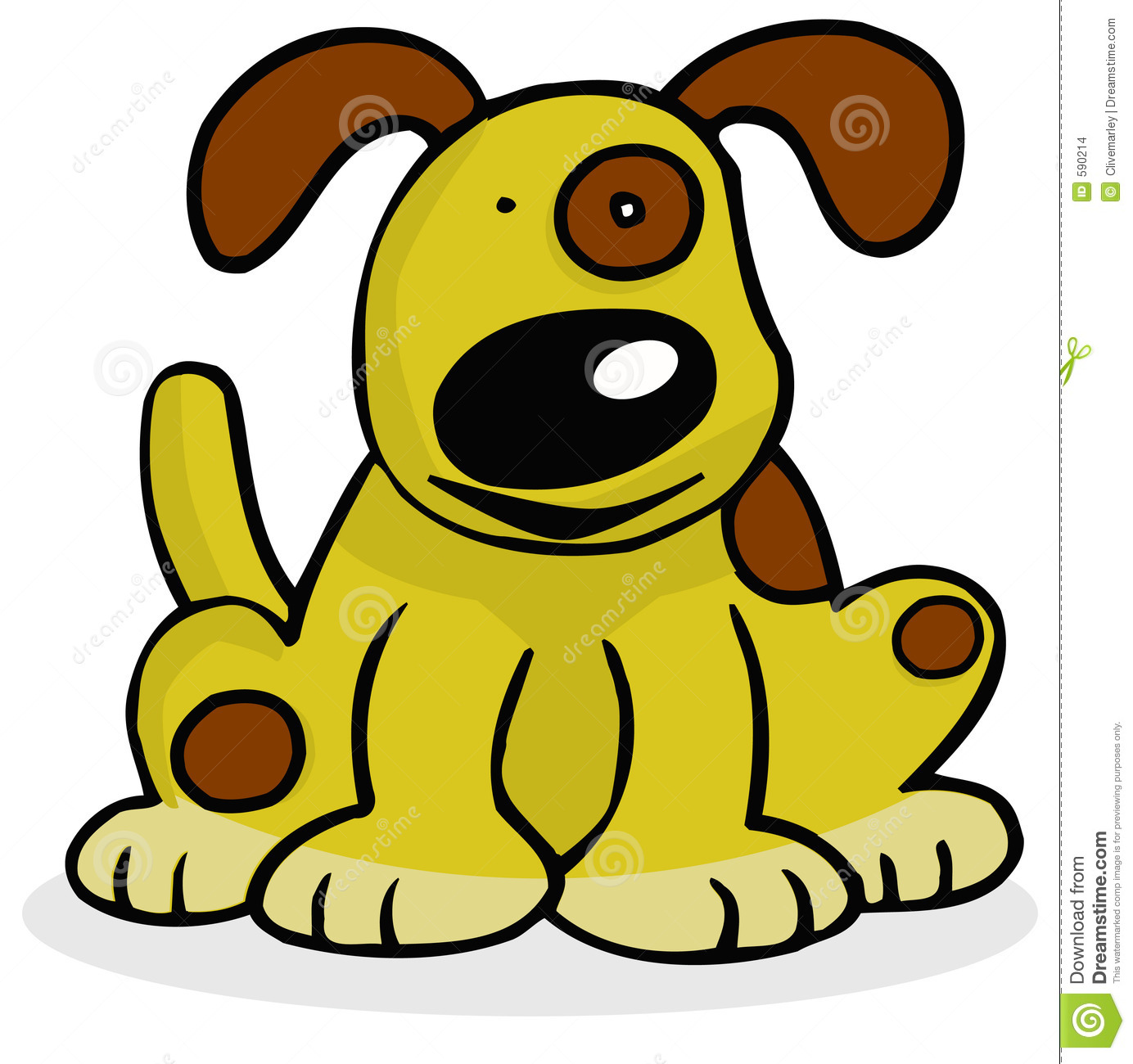 Thumbs Up Dog Clipart Happy Dog