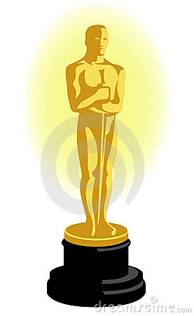 Academy Award Oscar Statuette Eps Editorial Stock Image   Image