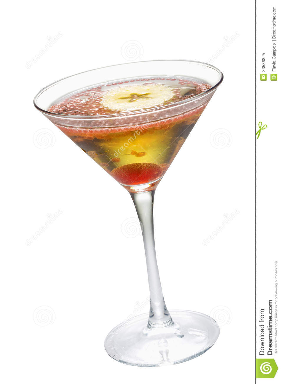 Apple Martini Royalty Free Stock Photo   Image  33586825