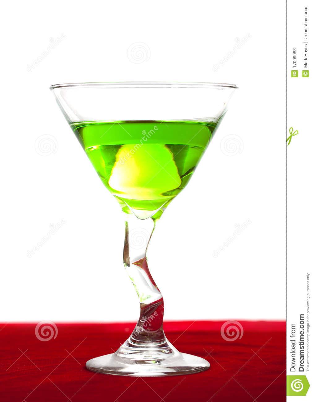 Apple Martini Royalty Free Stock Photos   Image  17009068
