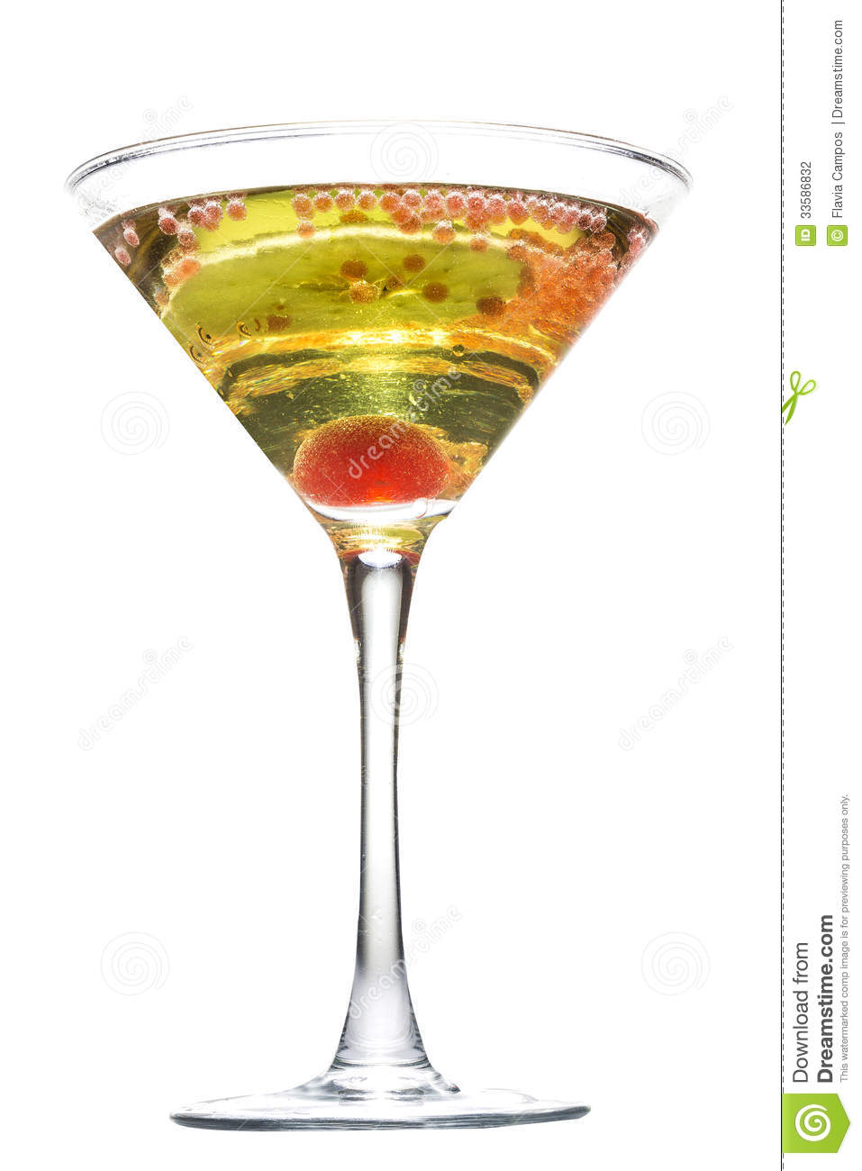 Apple Martini Stock Photography   Image  33586832