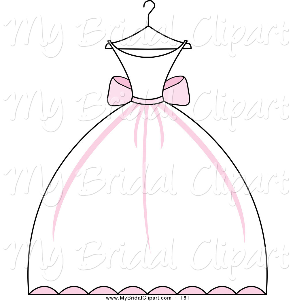 Wedding Dress Clip Art: Princess Dress Clipart
