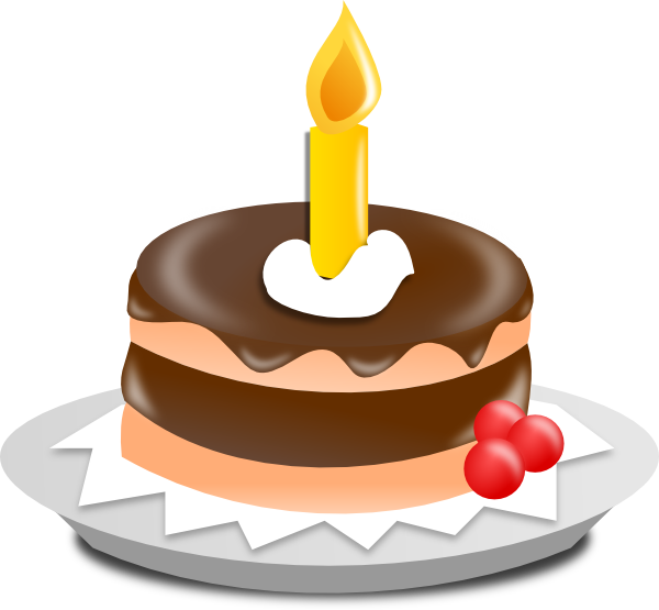 Free Birthday Cake Clip Art Animated  Cartoon Birthday Cake Without