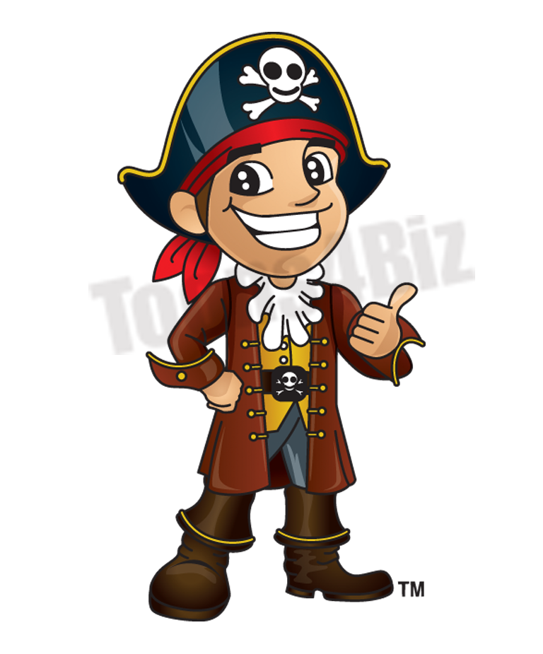 Pirate Mascot Clipart   School Mascot Clipart