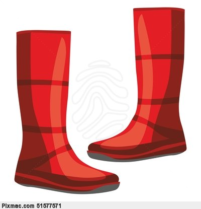 Rubber Boots Clipart