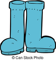 Rubber Boots Vector Clip Art Royalty Free  1154 Rubber Boots Clipart