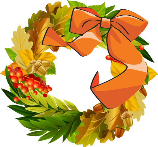 Fall Wreath Clipart - Clipart Kid