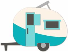 Caravans On Pinterest   Campers Travel Trailer Camping And Clip Art