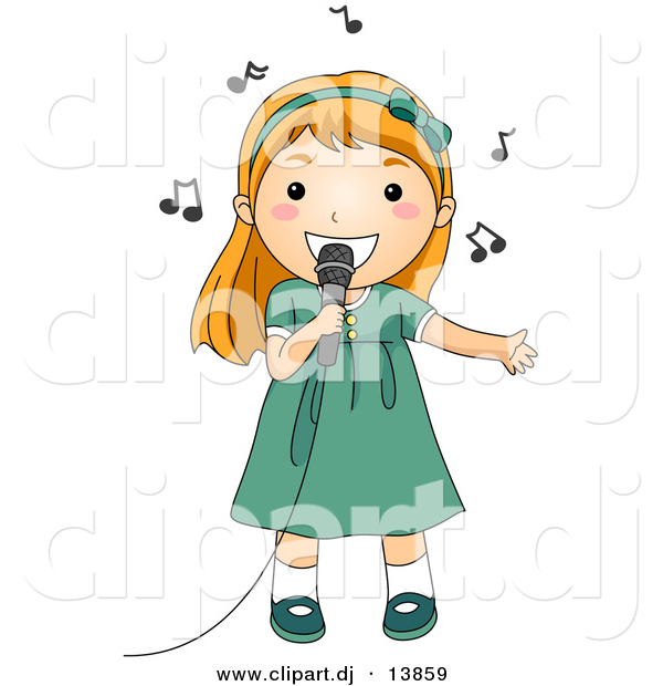 Girl Singing Clipart Clipart Panda Free Clipart Images - Clipart Kid