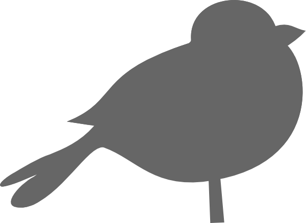Chubby Bird Clip Art  Png And Svg