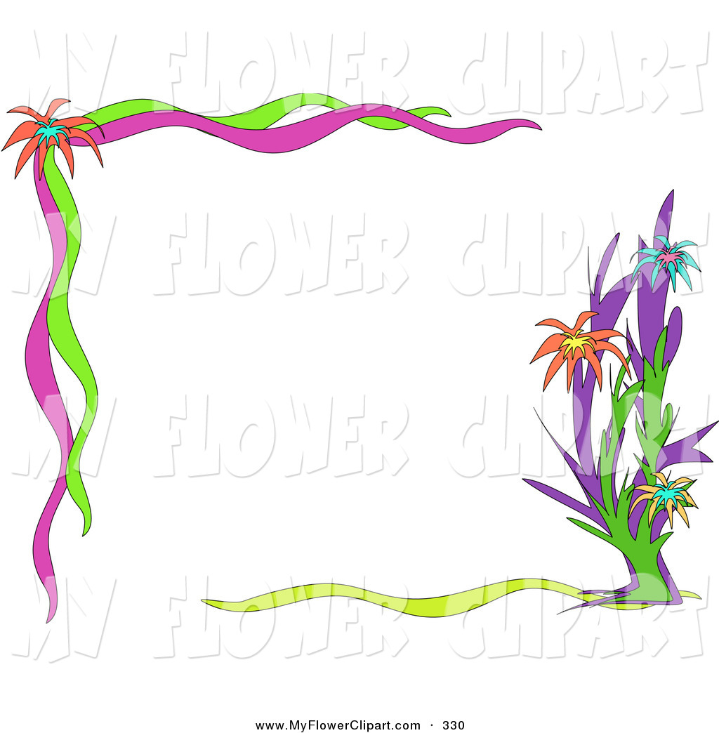 Displaying 14  Images For   Garden Clipart Border