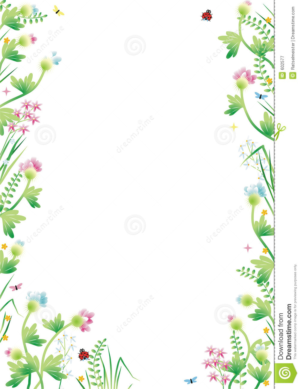 Fantasy Garden Background 3 Royalty Free Stock Photography   Image