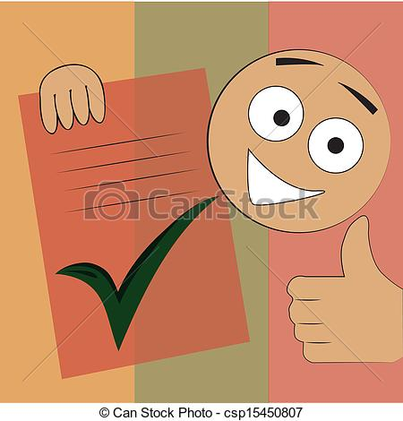 Finished Work Clipart Finished Checklist Stock