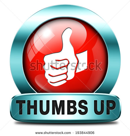 Finished Work Sign Thumbs Up Good And Excellent Work Job Well Done