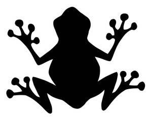 Frog Clipart Black And White   Clipart Panda   Free Clipart Images