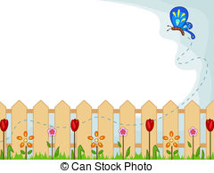 Garden Border Clipart And Stock Illustrations  13962 Garden Border