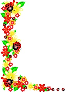 Garden Clipart Image Flowers And