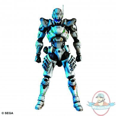 Kai Sam Gideon Action Figure By Square Enix   Man Of Action Figures