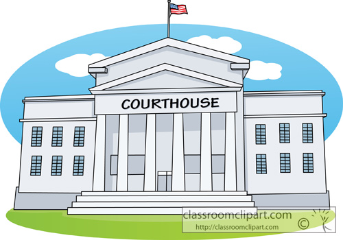 Legal   Courthouse 413   Classroom Clipart