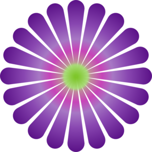 Purple Daisy Clip Art At Clker Com   Vector Clip Art Online Royalty