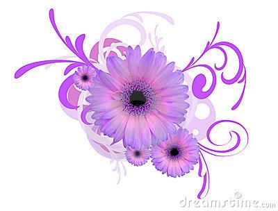 purple daisy flower clipart 10cm flickr photo sharing