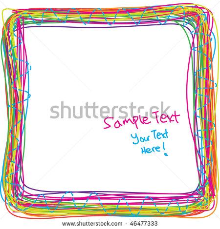 Rainbow Frame Clipart - Clipart Kid