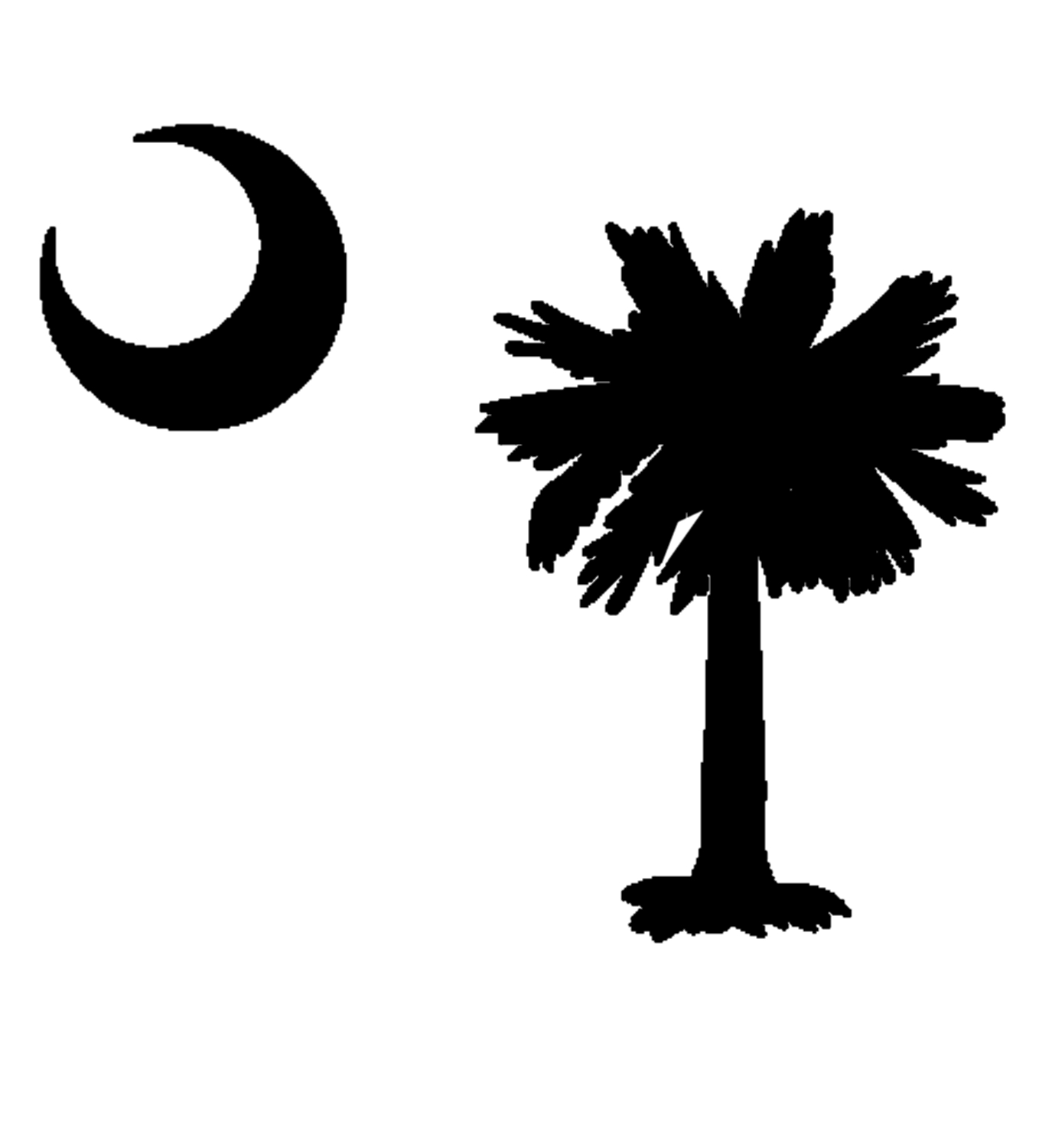 sc state flag clipart