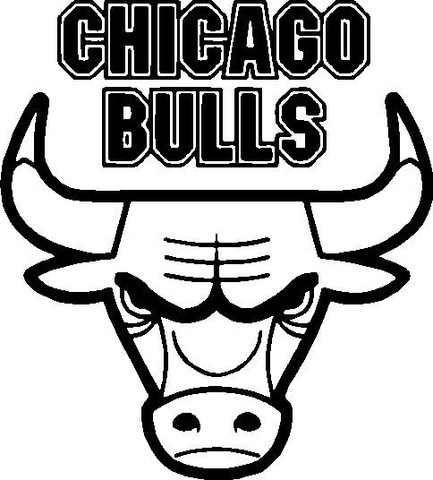 Chicago bulls clipart clipart suggest for Chicago bulls coloring pages