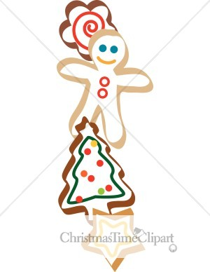 Christmas Cookie Border Clipart   Clipart Panda   Free Clipart Images