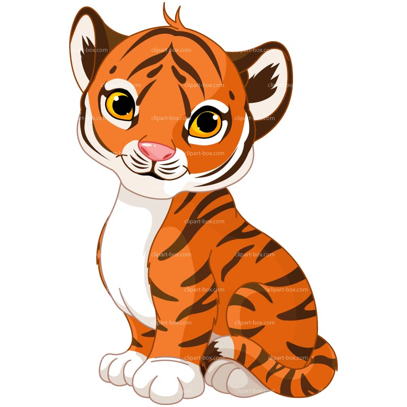 Cartoon Tiger Clipart - Clipart Kid