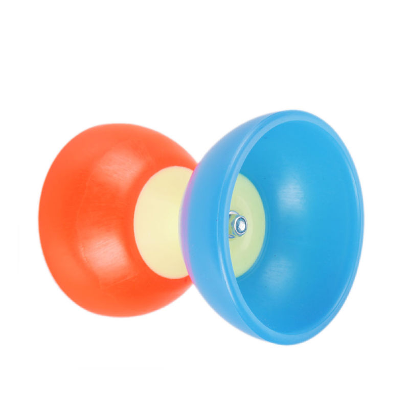 Details About Red With Blue Bowl Diabolo Chinese Yo Yo Toy New