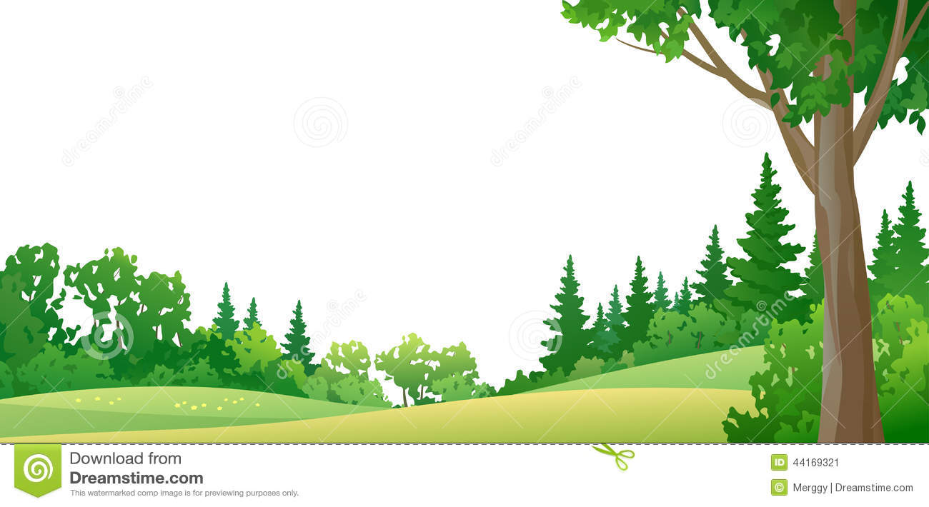 Forest Border Clipart - Clipart Kid