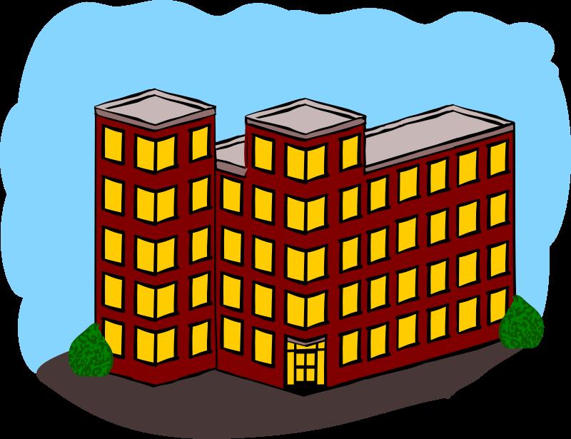 School Building Clip Art At Clker Com Vector Clip Art Online