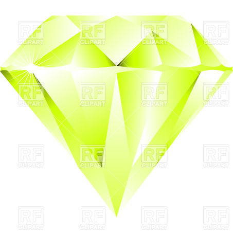 Green Triangular Diamond Download Royalty Free Vector Clipart  Eps