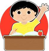 Little Boy At School Asian   Royalty Free Clip Art