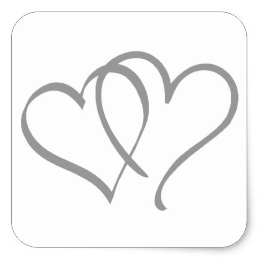 Silver Hearts Clipart - Clipart Suggest
