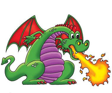 Fire-breathing Dragon Clipart - Clipart Kid