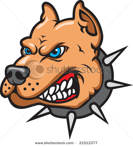 angry dog clip art - photo #3