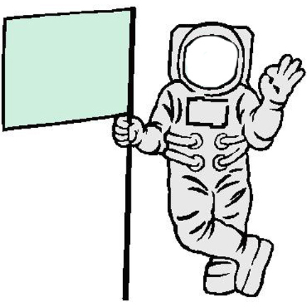 Astronaut Headless Large   Free Images At Clker Com   Vector Clip Art