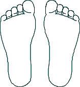 Bare Feet Clipart - Clipart Kid
