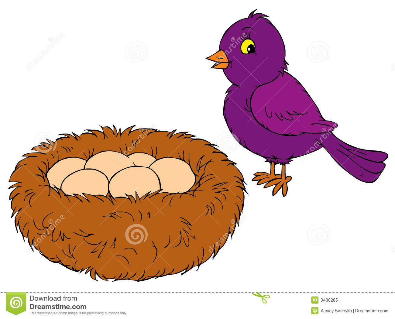 Bird Nest Clipart - Clipart Kid