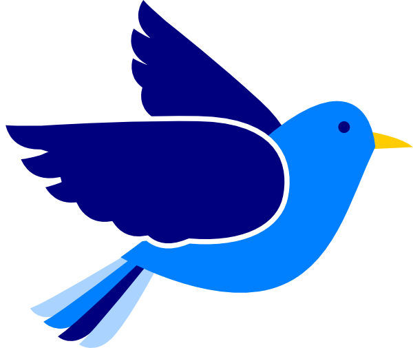 Blue Bird Clip Art At Clker Com   Vector Clip Art Online Royalty Free