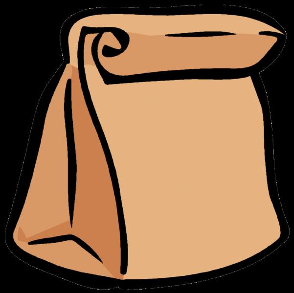Clip Art Paper Bag Clipart brown bag clipart kid lunch clip art
