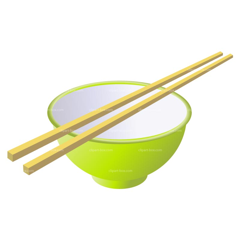 Clipart Rice Bowl   Royalty Free Vector Design