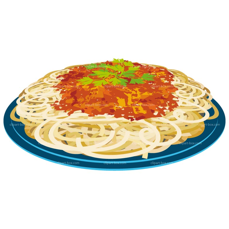Clipart Spaghetti Plate   Royalty Free Vector Design