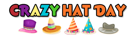 Crazy Hat Day Clip Art
