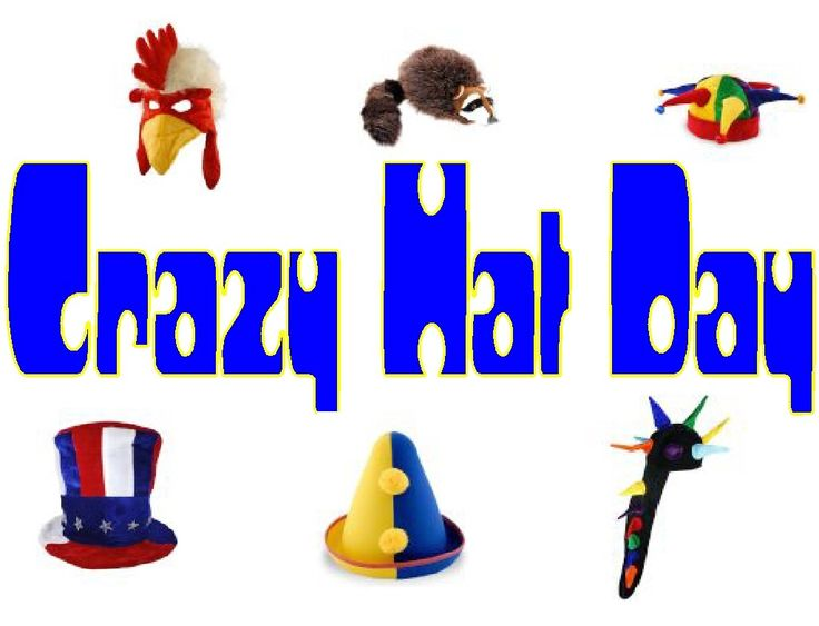 Crazy Hat Day   Pto Clip Art   Pinterest