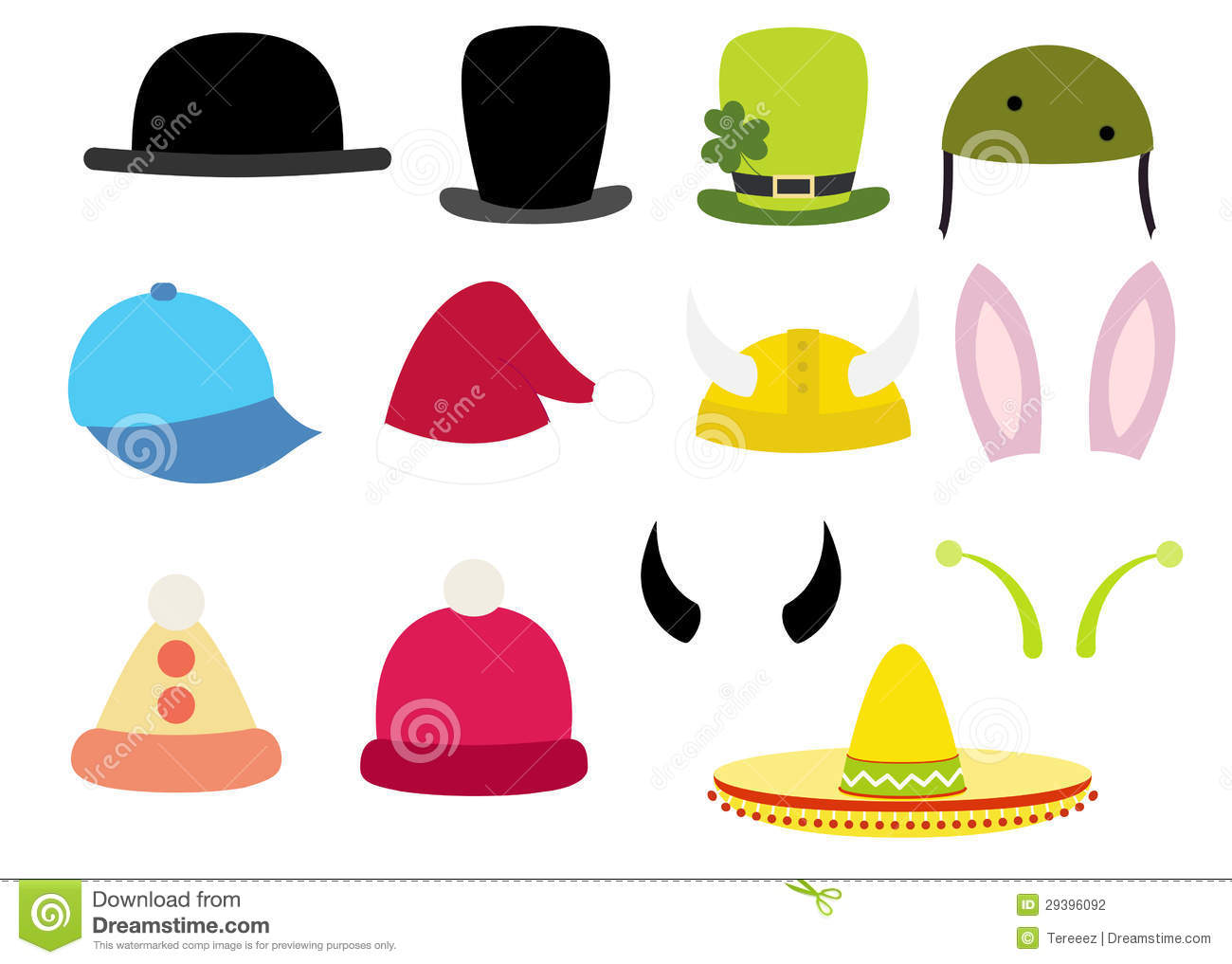 clip art funny hat - photo #26