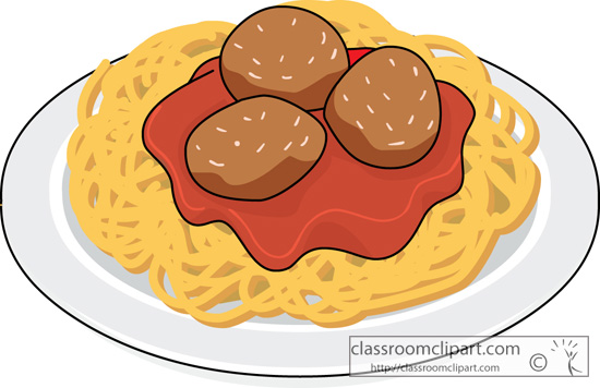 Download Plate Of Spaghetti And Meatballs