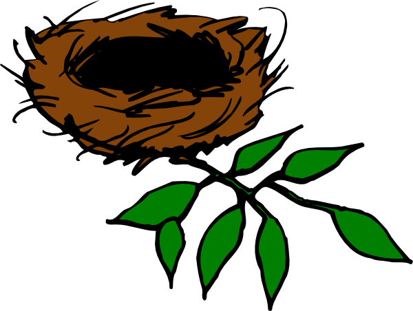 Empty Bird Nest Clipart - Clipart Kid